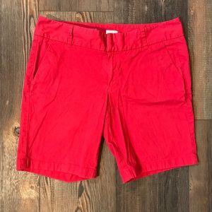 J. Crew Frankie Stretch Shorts